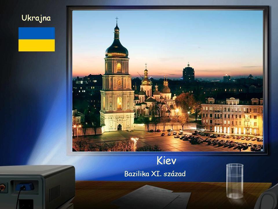 Ukrajna Kiev látkép
