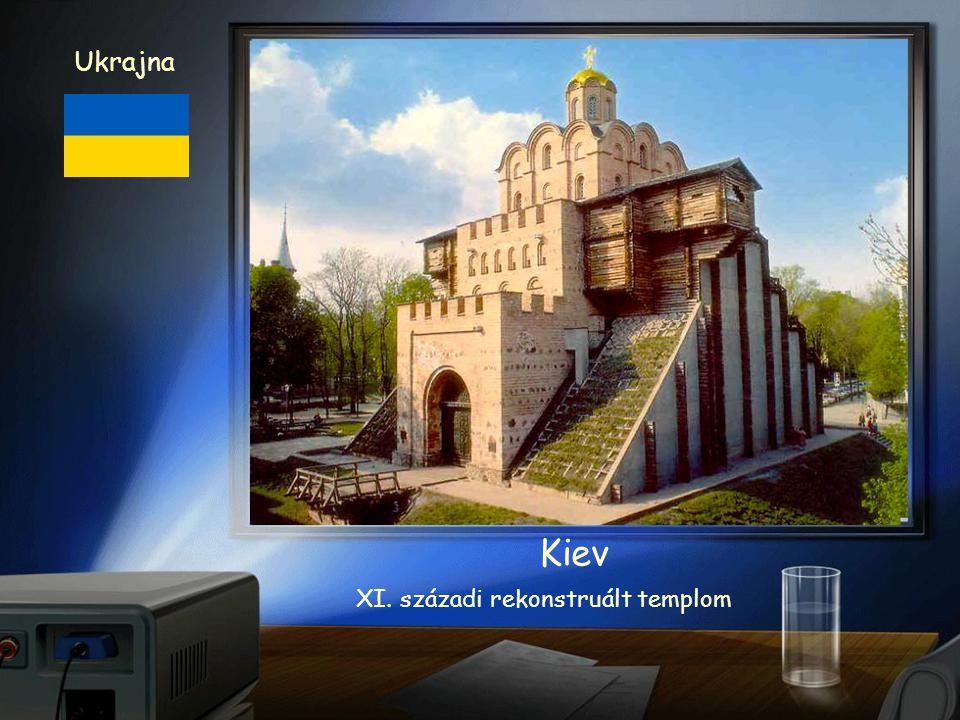 Bazilika XI. század Ukrajna Kiev