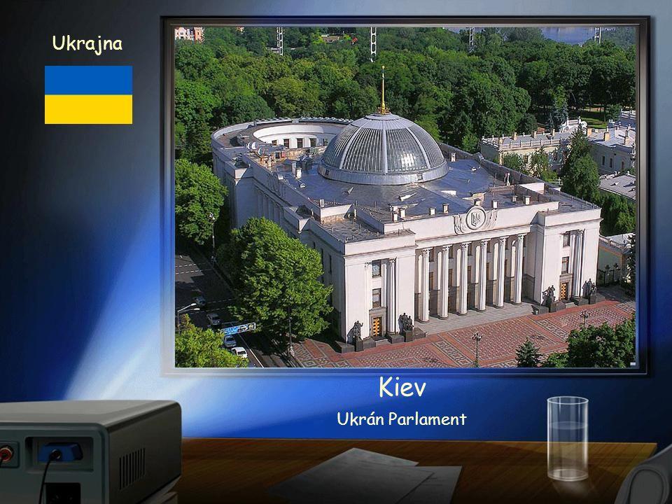 Ukrajna Kiev XI. századi rekonstruált templom