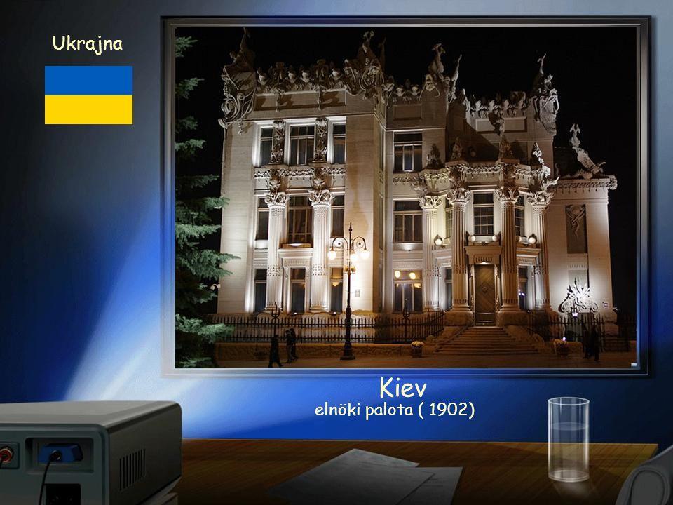 Ukrajna Kiev Ukrán Parlament