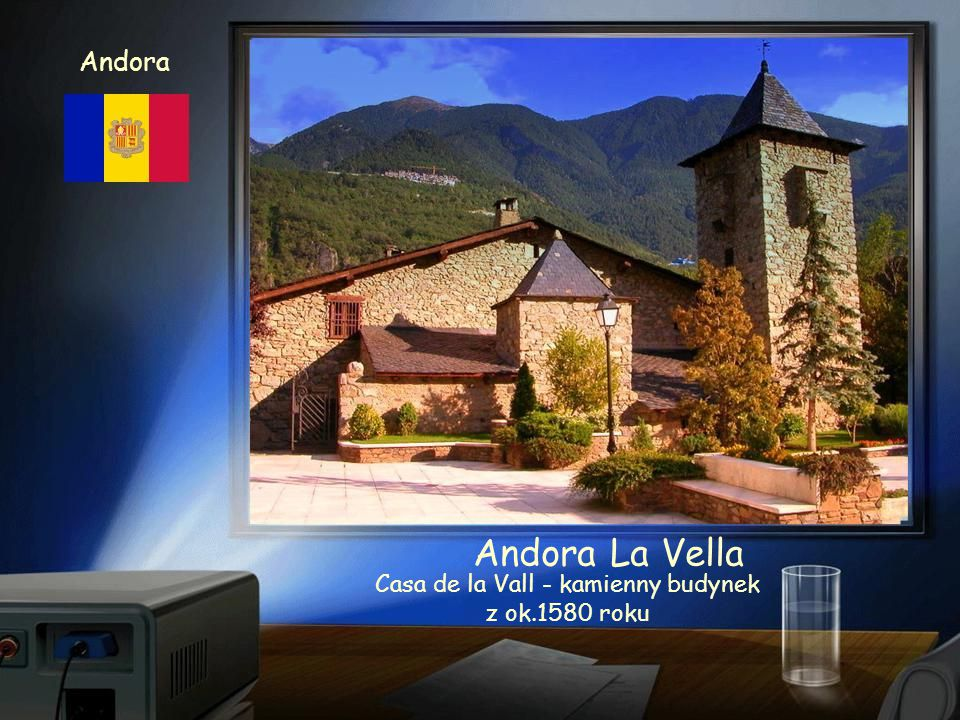 Andora Andora La Vella Panorama miasta