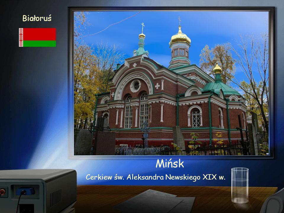 Białoruś Mińsk Kościół św. Szymona i św. Heleny