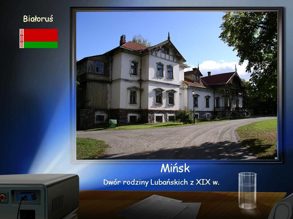 Białoruś Mińsk Cerkiew św. Aleksandra Newskiego XIX w.