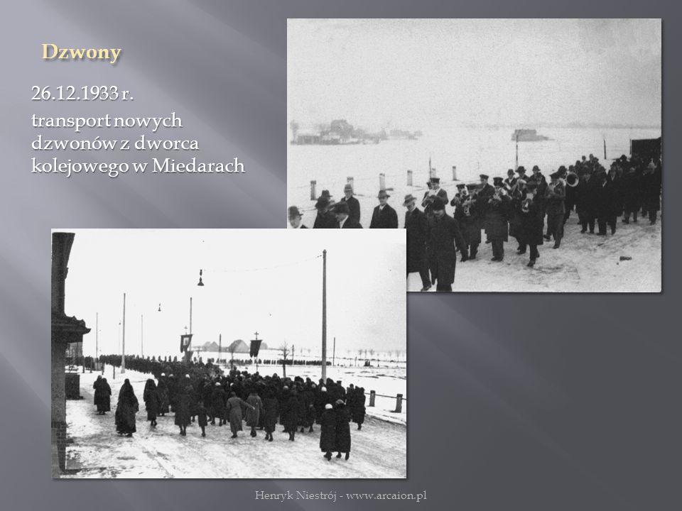 Dzwony 26.12.1933 r.