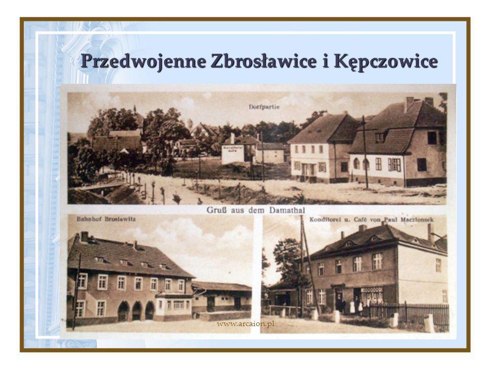 Przedwojenne Zbrosławice i Kępczowice www.arcaion.pl