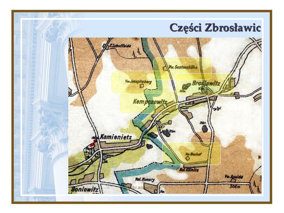 Części Zbrosławic www.arcaion.pl