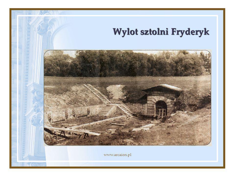 Wylot sztolni Fryderyk www.arcaion.pl