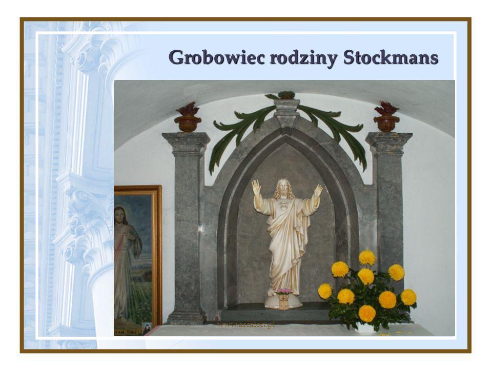 Grobowiec rodziny Stockmans www.arcaion.pl