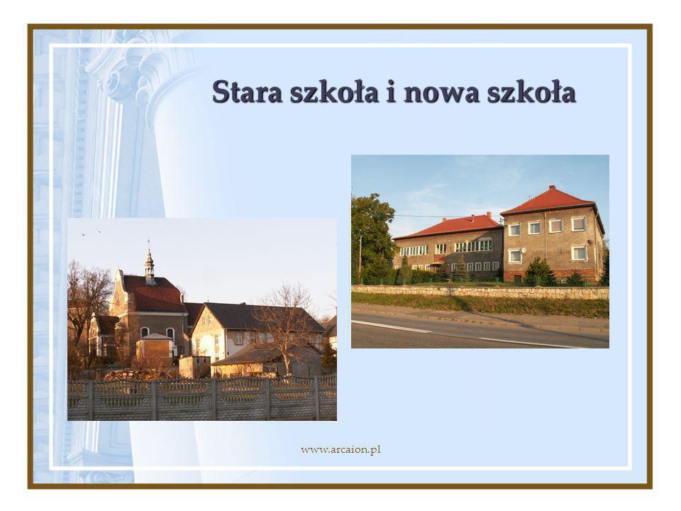 Stara szkoła i nowa szkoła www.arcaion.pl