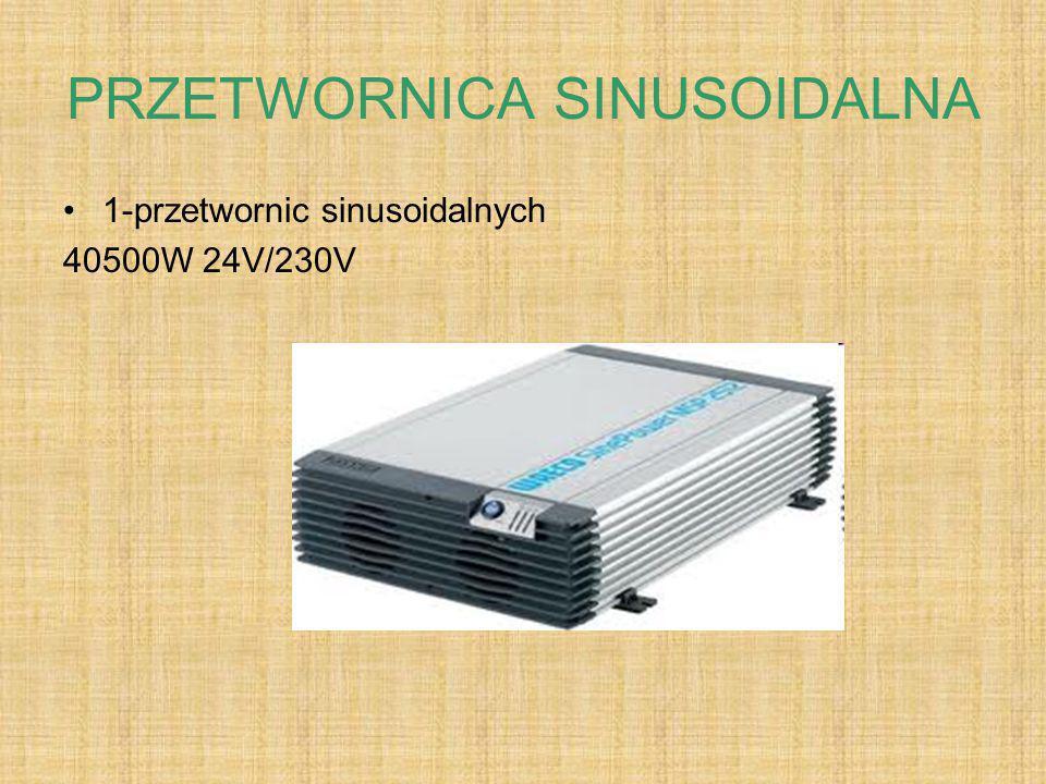 PRZETWORNICA SINUSOIDALNA 1-przetwornic sinusoidalnych 40500W 24V/230V