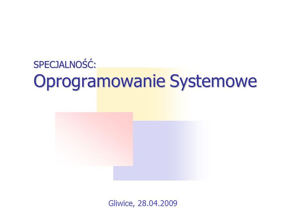 Przedmioty obowiązkowe Programowanie w środowisku Windows Programowanie współbieżne Tworzenie programów dla platformy.NET Elementy translatorów Programowanie systemowe w Windows NT i UNIX Java i programowanie w sieci Internet Prowadzący: dr inż.