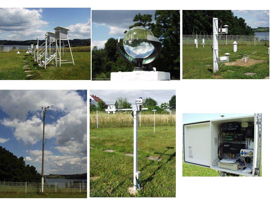 Po wybudowaniu Zbiornika: profil topoklimatyczny Punkty pomiarowe: Las Zbocze Brzeg