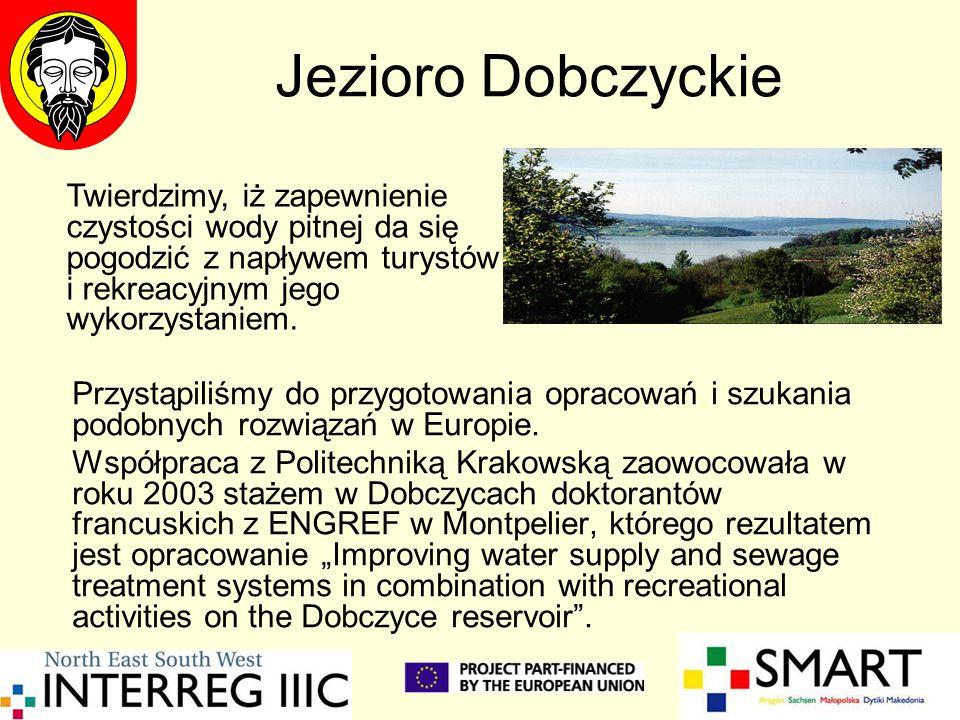 Jezioro Dobczyckie Przystąpiliśmy do przygotowania opracowań i szukania podobnych rozwiązań w Europie. Współpraca z Politechniką Krakowską zaowocowała