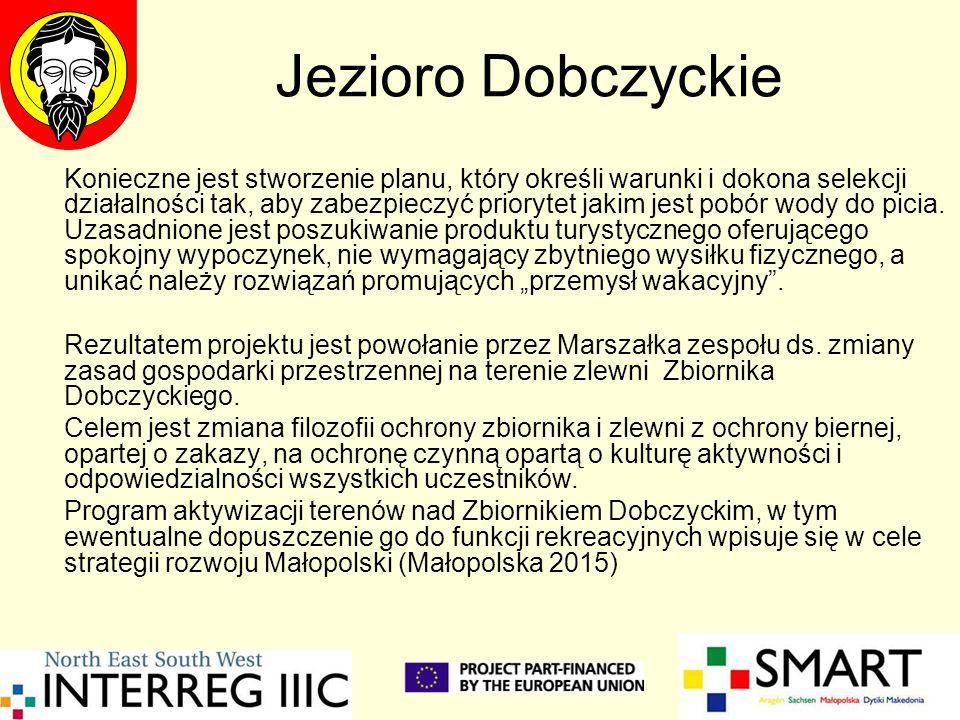 Jezioro Dobczyckie Konieczne jest stworzenie planu, który określi warunki i dokona selekcji działalności tak, aby zabezpieczyć priorytet jakim jest pobór wody do picia.