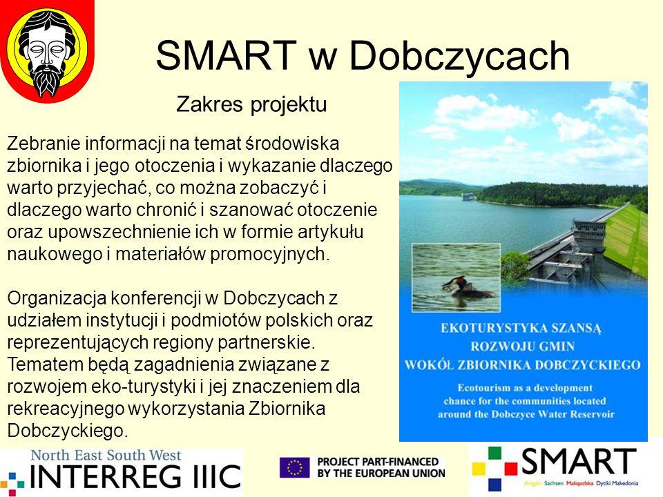 SMART w Dobczycach Zebranie informacji na temat środowiska zbiornika i jego otoczenia i wykazanie dlaczego warto przyjechać, co można zobaczyć i dlacz