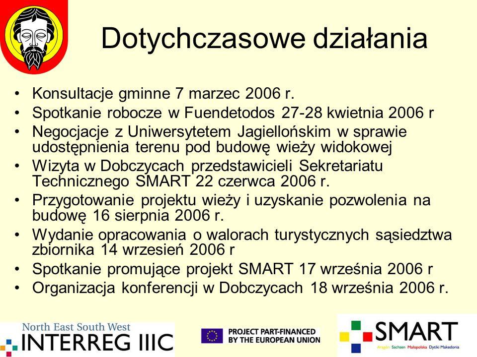 Dotychczasowe działania Konsultacje gminne 7 marzec 2006 r. Spotkanie robocze w Fuendetodos 27-28 kwietnia 2006 r Negocjacje z Uniwersytetem Jagielloń