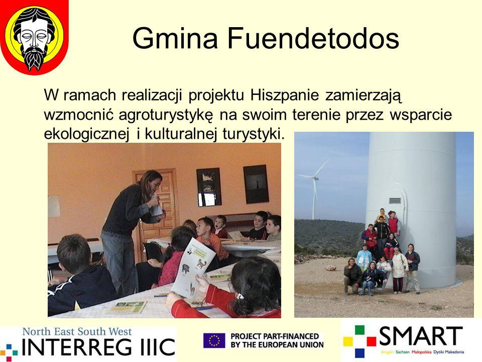 Gmina Fuendetodos W ramach realizacji projektu Hiszpanie zamierzają wzmocnić agroturystykę na swoim terenie przez wsparcie ekologicznej i kulturalnej turystyki.