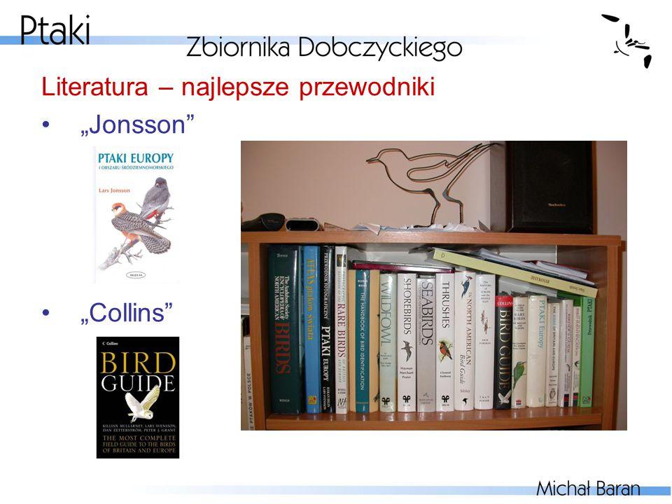 """Literatura – najlepsze przewodniki """"Jonsson"""" """"Collins"""""""