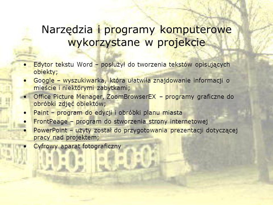Organizacja pracy zespołów uczniowskich Nad projektem pracowało pięć zespołów uczniowskich z klas Ia i IIIa.