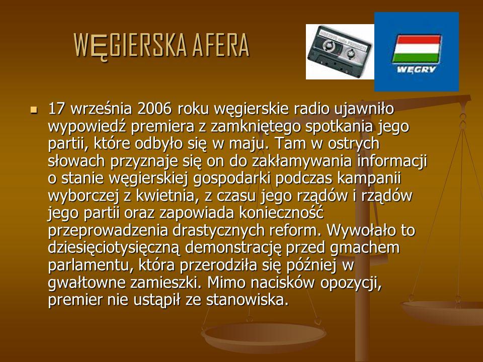 PARTIA RZ Ą DZ Ą CA NA TLE INNYCH PARTII- INTERNAUCI http://sondaz.wp.pl/