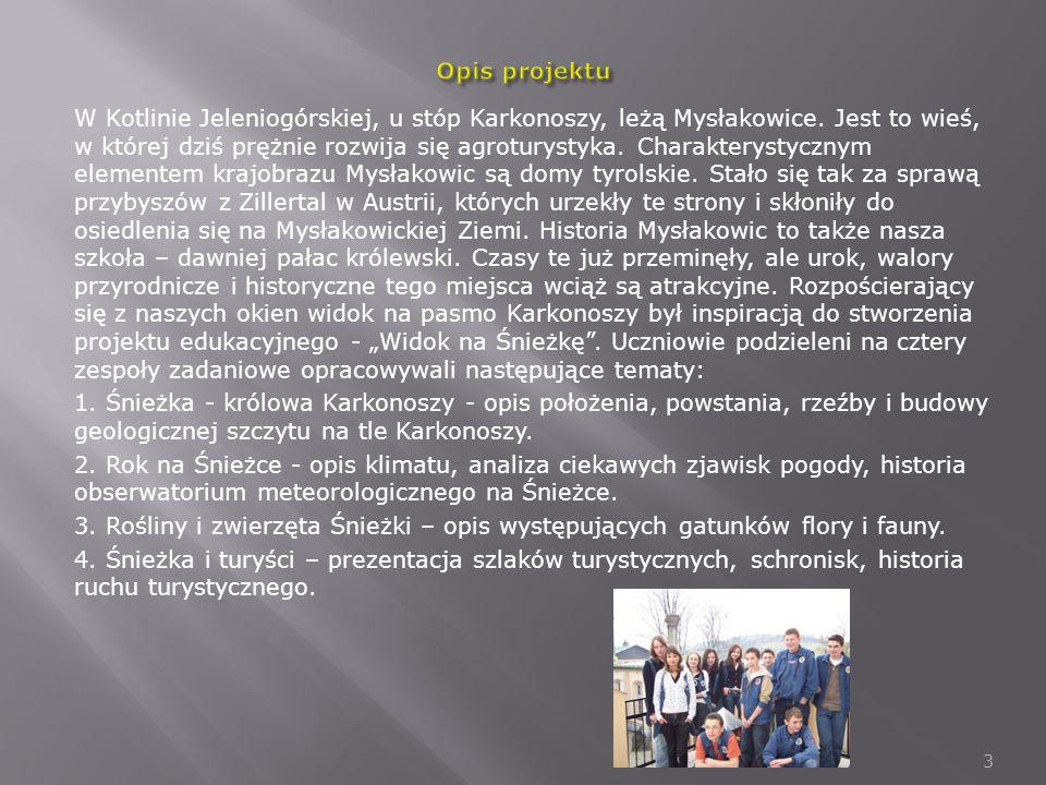W Kotlinie Jeleniogórskiej, u stóp Karkonoszy, leżą Mysłakowice.