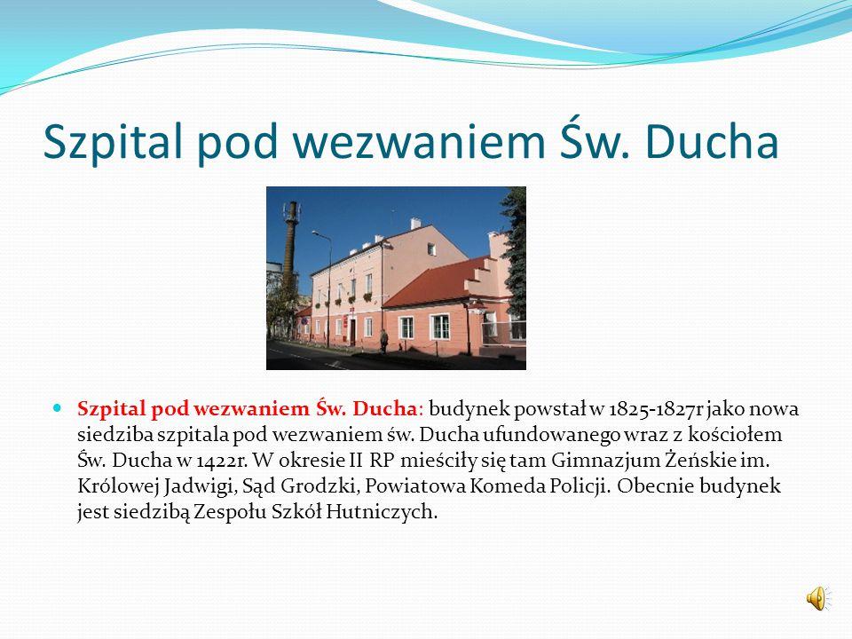Park miejski im F. Chopina Park Miejski im. F.Chopina. Jeden z najstarszych parków miejskich w Polsce z poł. XIX w. Posiada ponad 170 letnią tradycję.