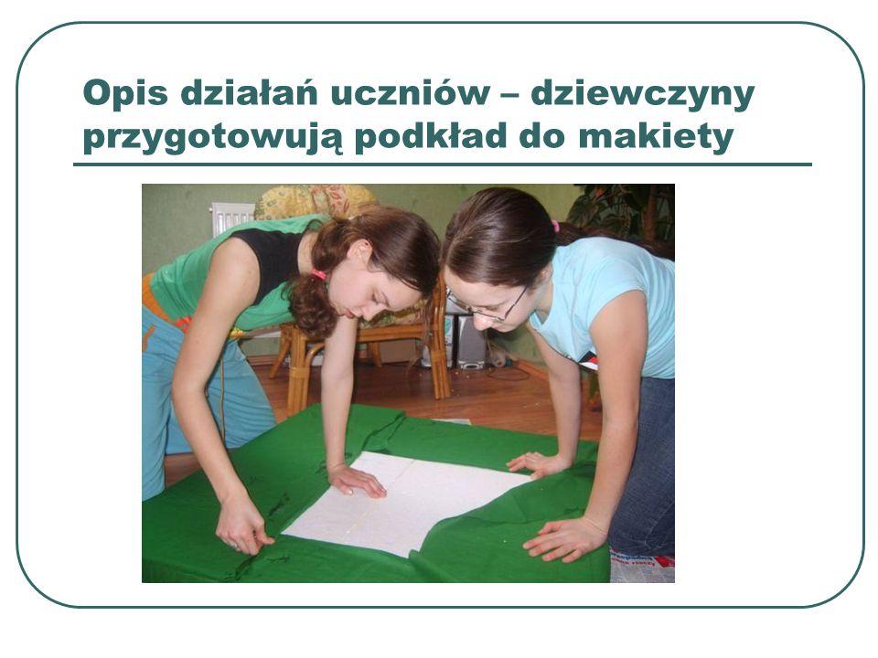 Rezultaty pracy uczniów - makiety