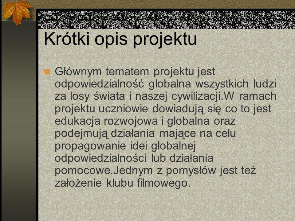 Cele projektu a.