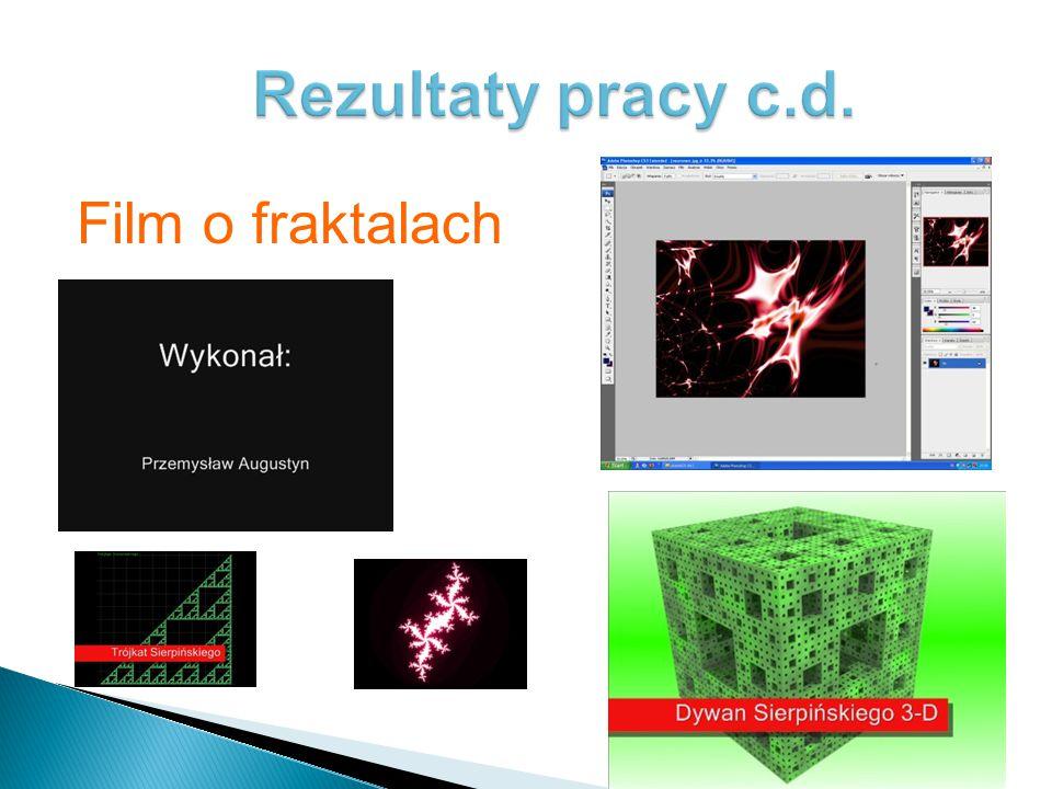 Rezultaty pracy uczniów można oglądać na stronie: www.wpm.lua.pl Są to: prezentacje: Stefan Banach, Twierdzenie Banacha, Wacław Sierpiński, Zdzisław P