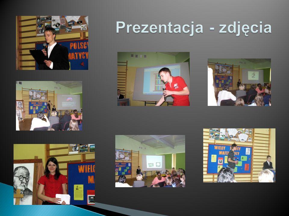 Zrzuty ekranowe prezentacji o Enigmie