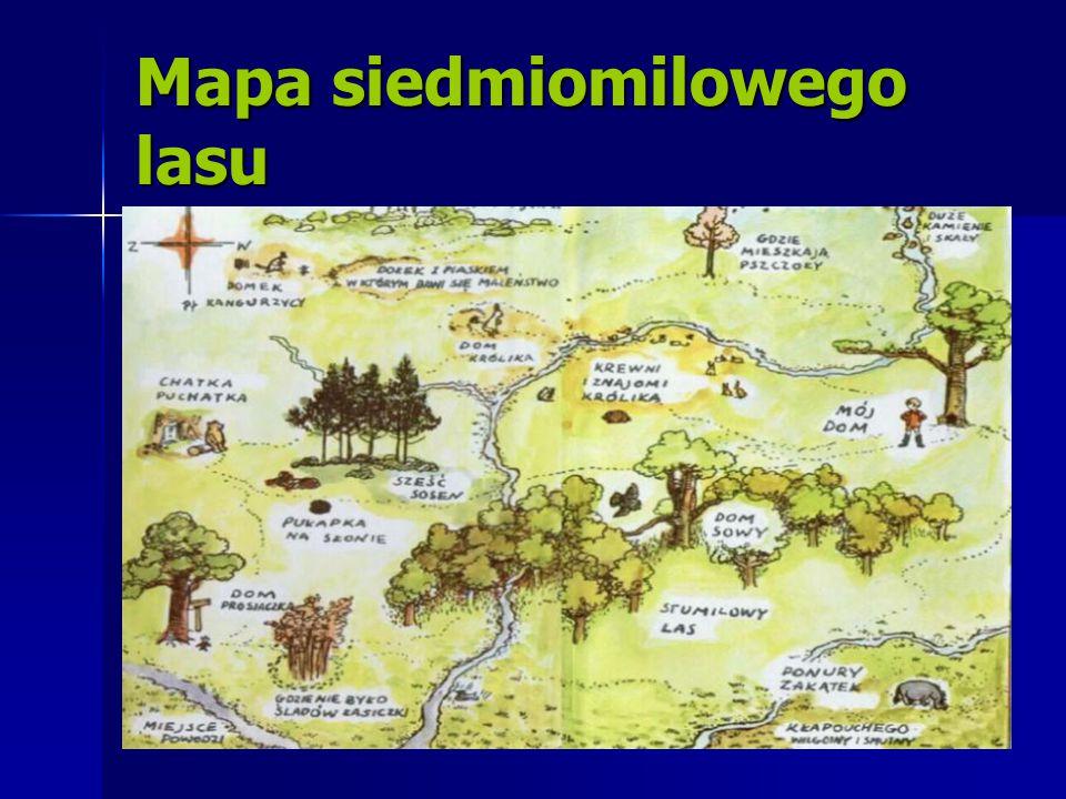 Mapa siedmiomilowego lasu