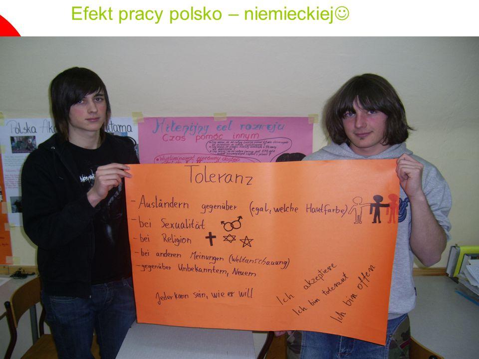 11 Efekt pracy polsko – niemieckiej