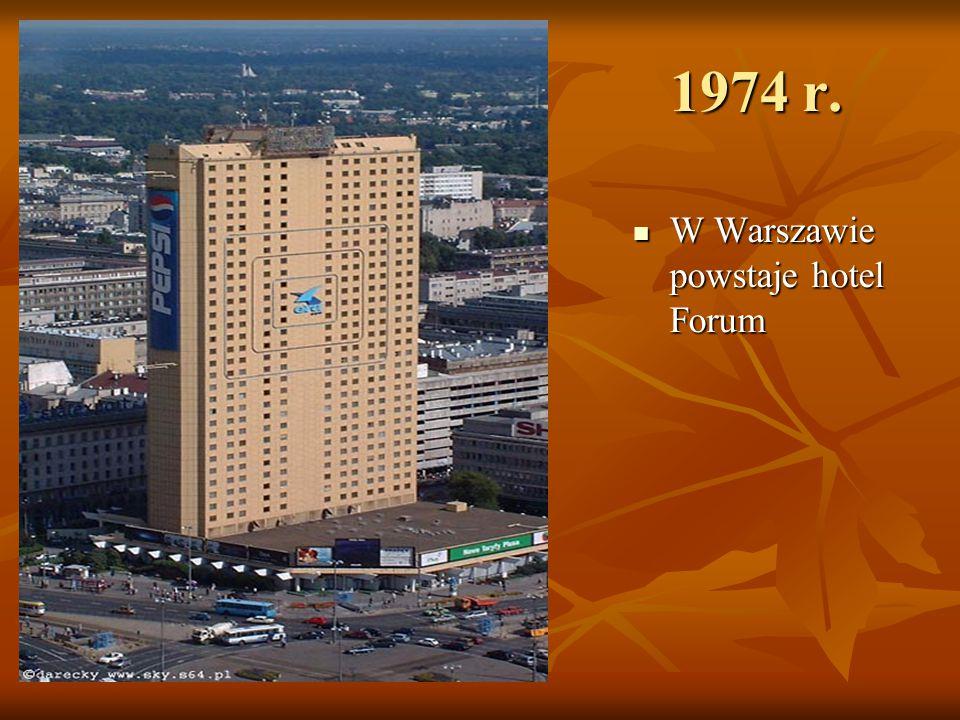 Lata 90-te Marriott, Radisson SAS, Holiday Inn, Sheraton Marriott, Radisson SAS, Holiday Inn, Sheraton