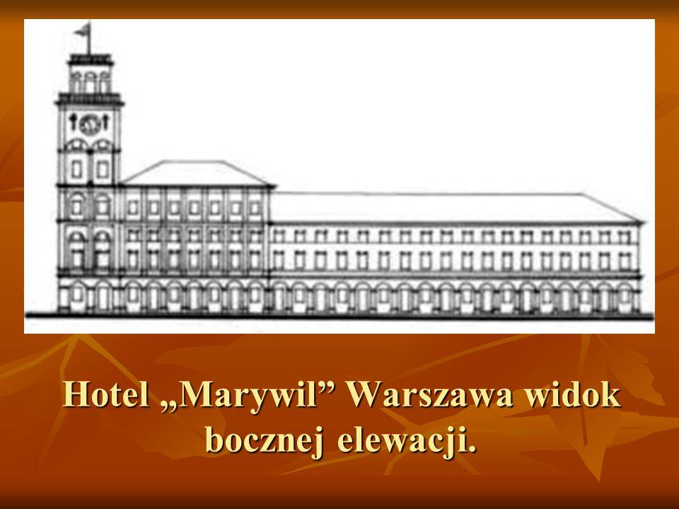 """Hotel """"Marywil Warszawa (widok z lotu ptaka)"""