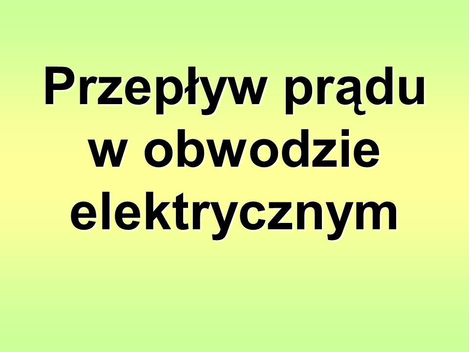 + - - - - Jądro atomowe Elektron Elektryczność to forma energii związanej z cząsteczkami nazywanymi elektronami.