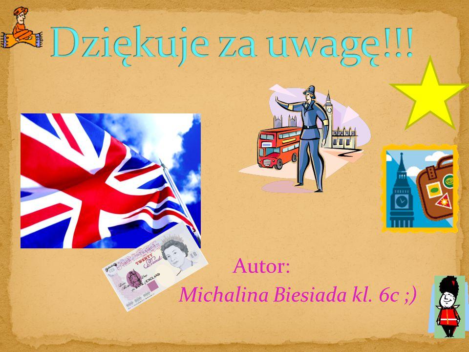 Autor: Michalina Biesiada kl. 6c ;)