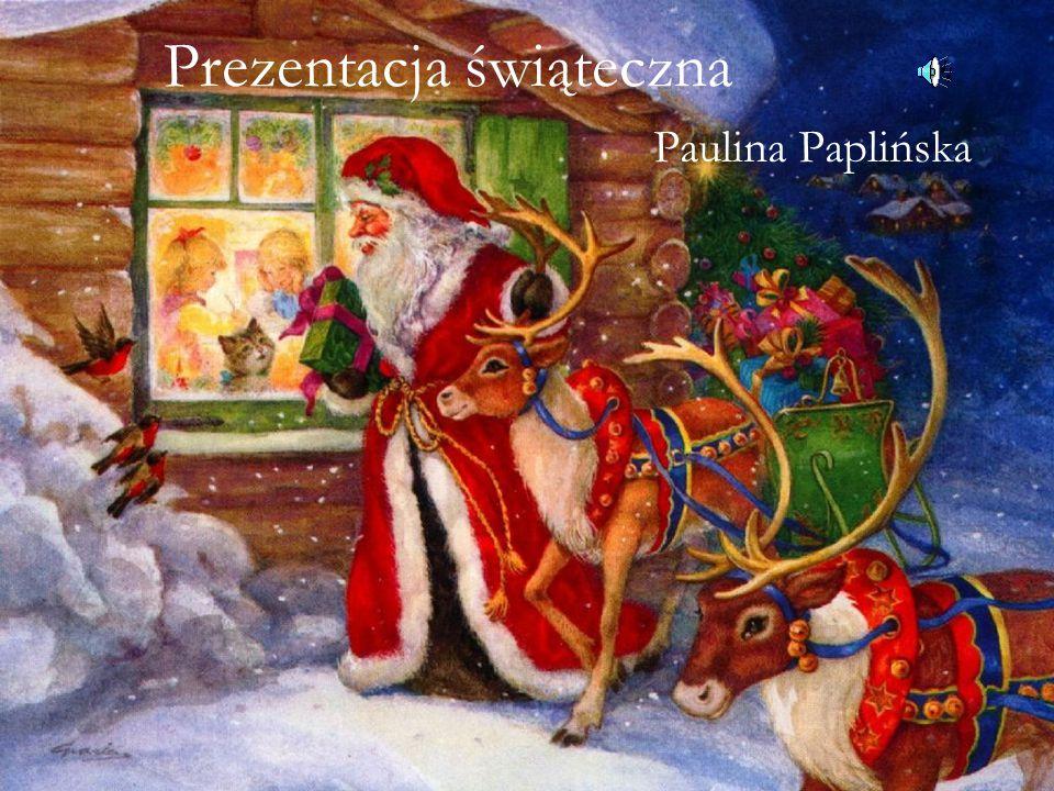 Prezentacja świąteczna Paulina Paplińska