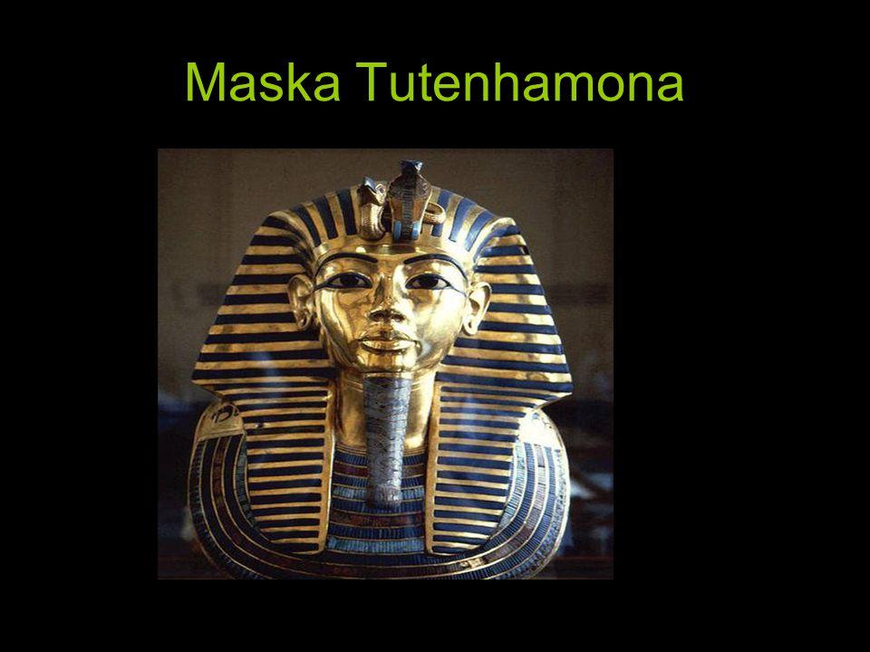 Maska Tutenhamona