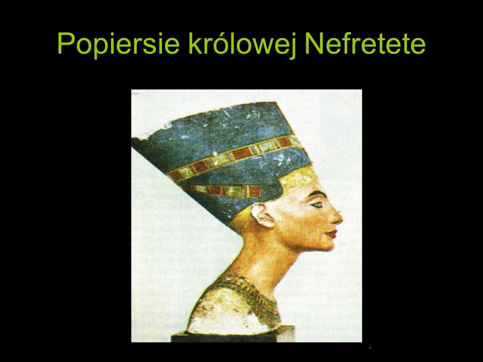 Popiersie królowej Nefretete