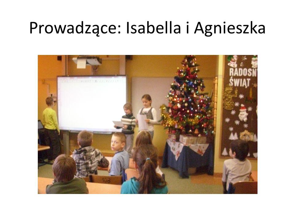 Prowadzące: Isabella i Agnieszka
