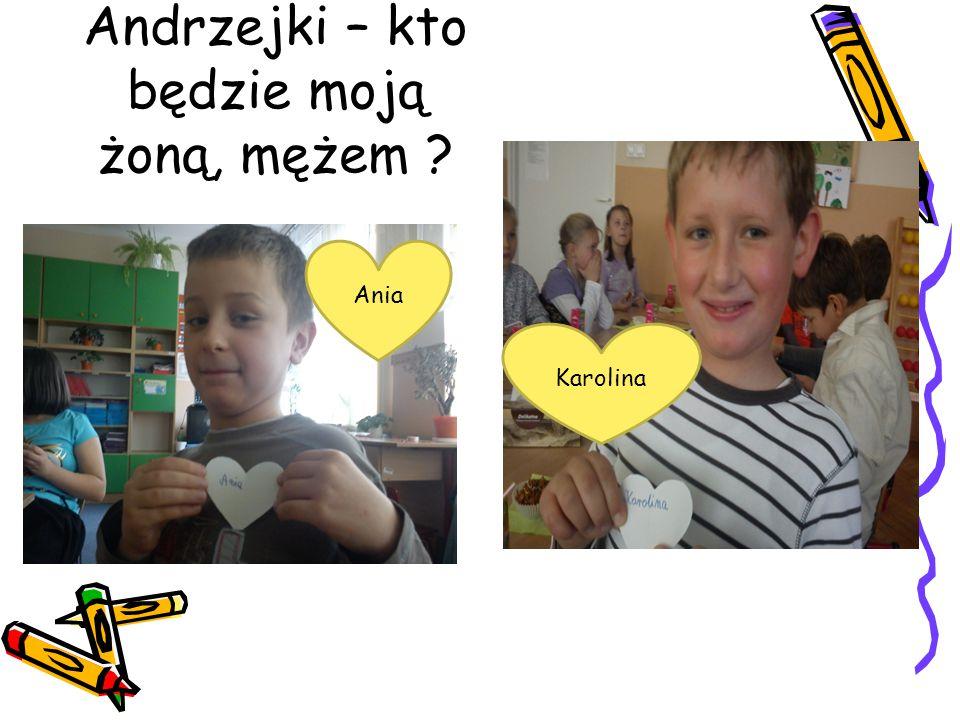 Andrzejki – kto będzie moją żoną, mężem ? Ania Karolina