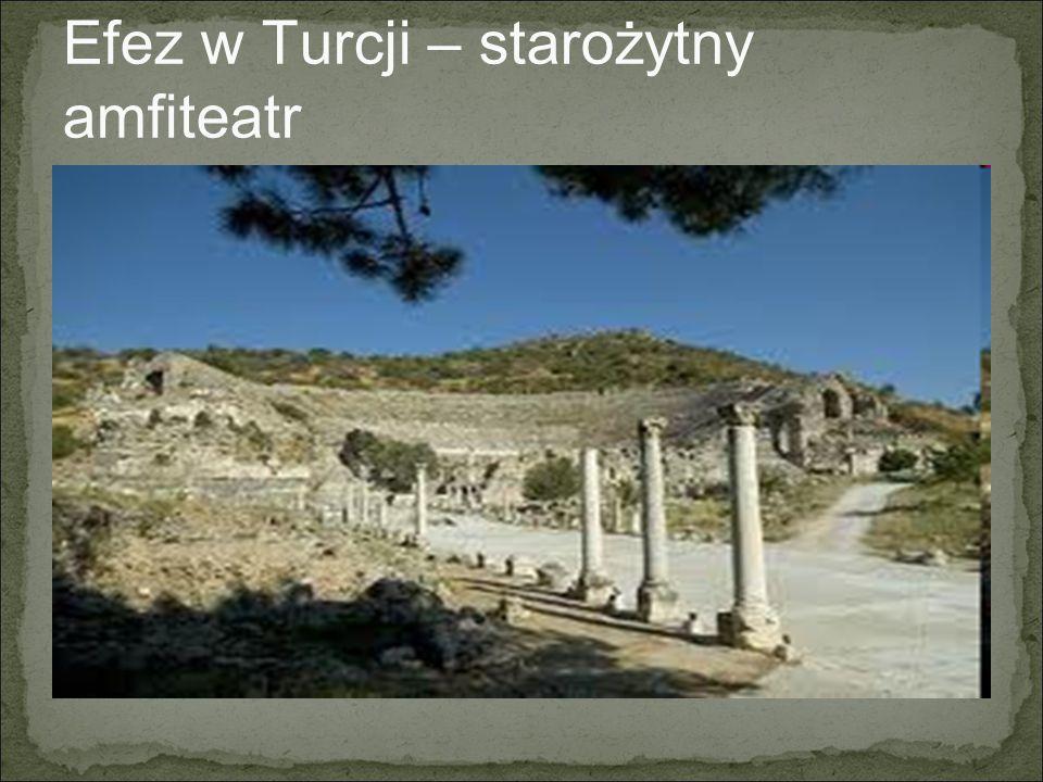 Perge – zabytki z czasów Aleksandra Wielkiego - Turcja