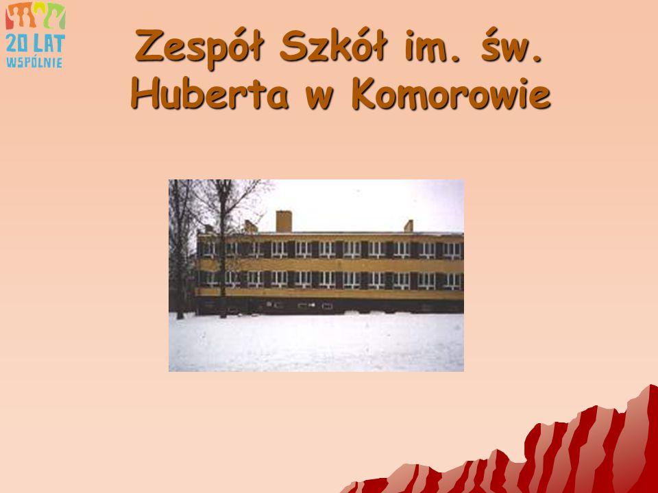 Zespół Szkół im. św. Huberta w Komorowie Teraz...