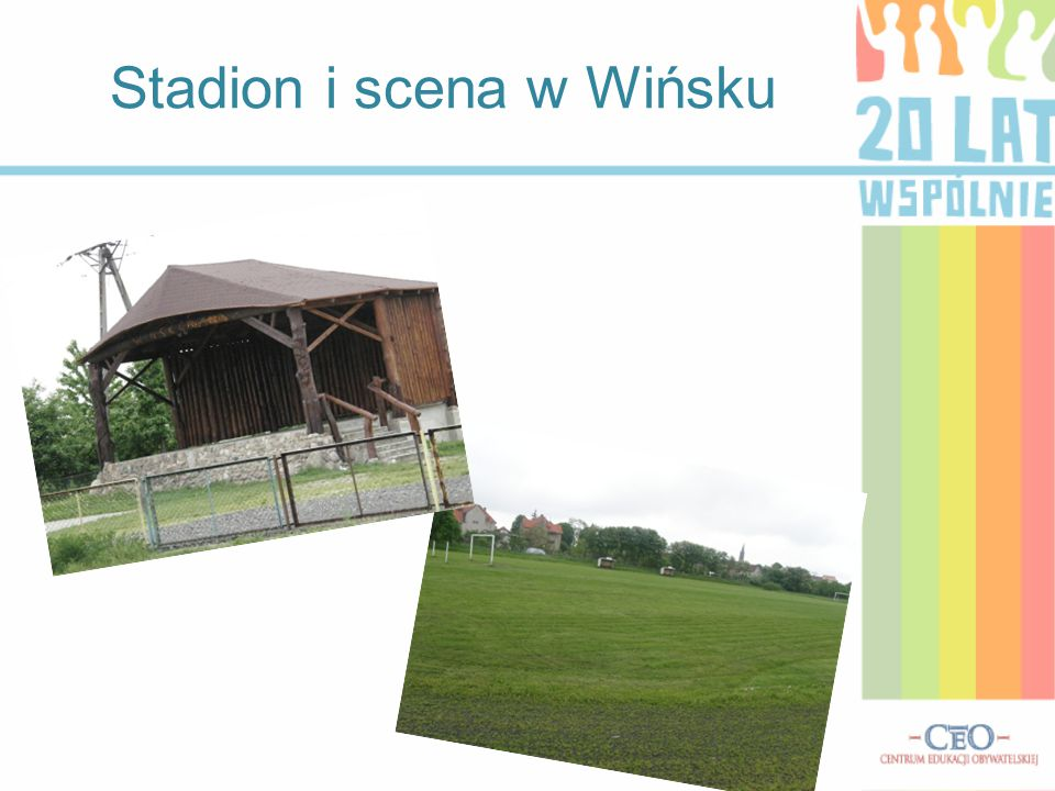 Stadion i scena w Wińsku