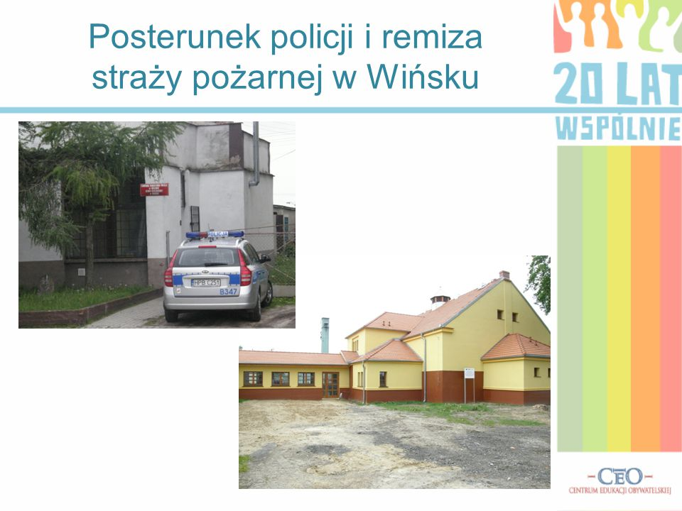 Posterunek policji i remiza straży pożarnej w Wińsku
