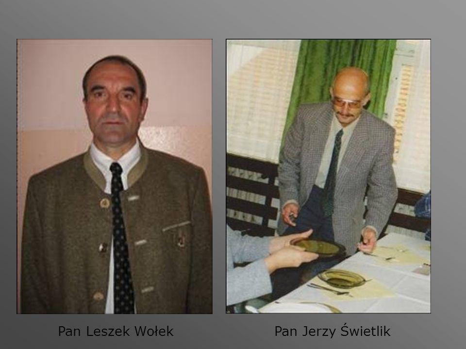 Pan Leszek WołekPan Jerzy Świetlik