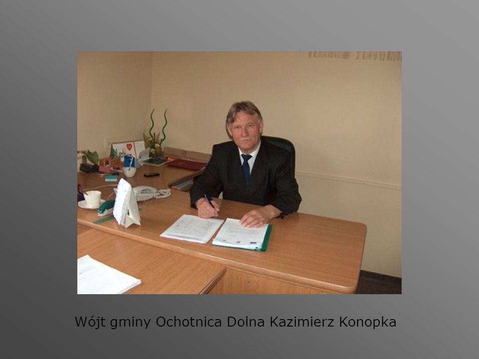 Wójt gminy Ochotnica Dolna Kazimierz Konopka