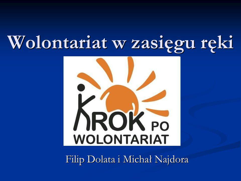 Wolontariat w zasięgu ręki Filip Dolata i Michał Najdora