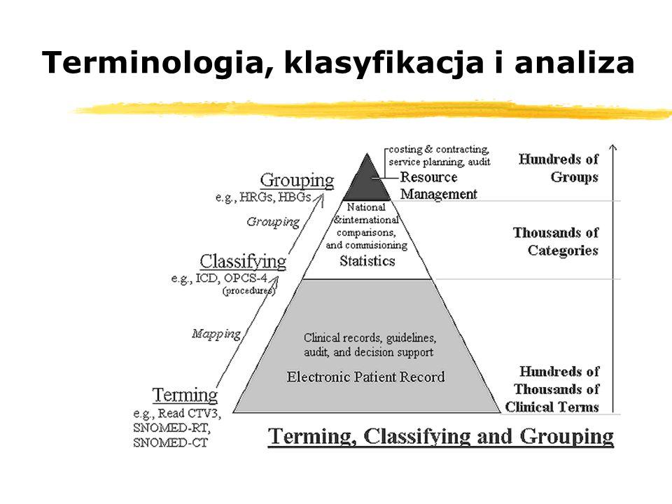 Terminologia, klasyfikacja i analiza
