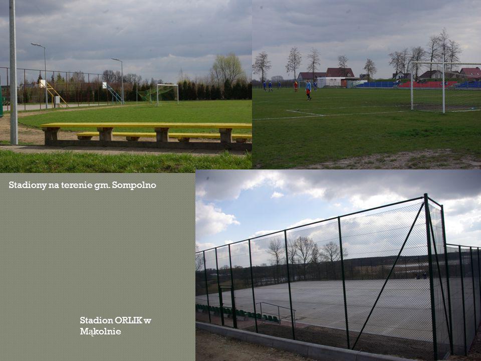 Stadiony na terenie gm. Sompolno Stadion ORLIK w M ą kolnie